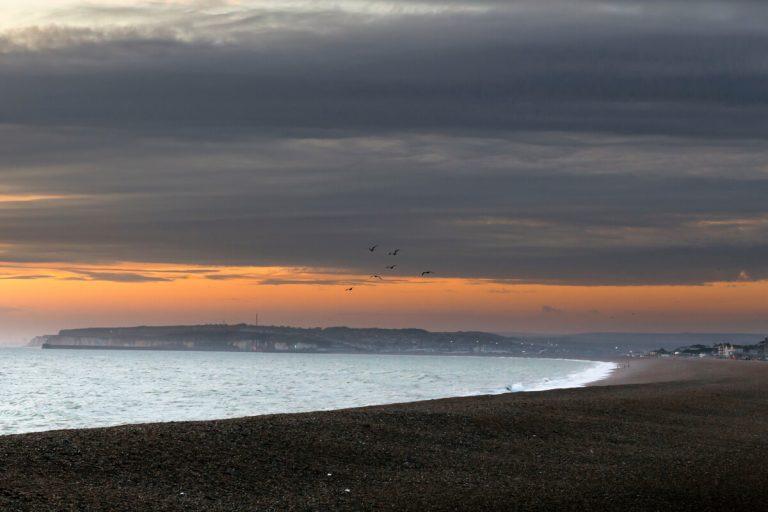 seaford-beach-sunset