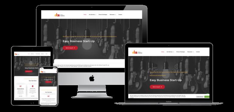 EBSU Website mockups The Web Design Guys
